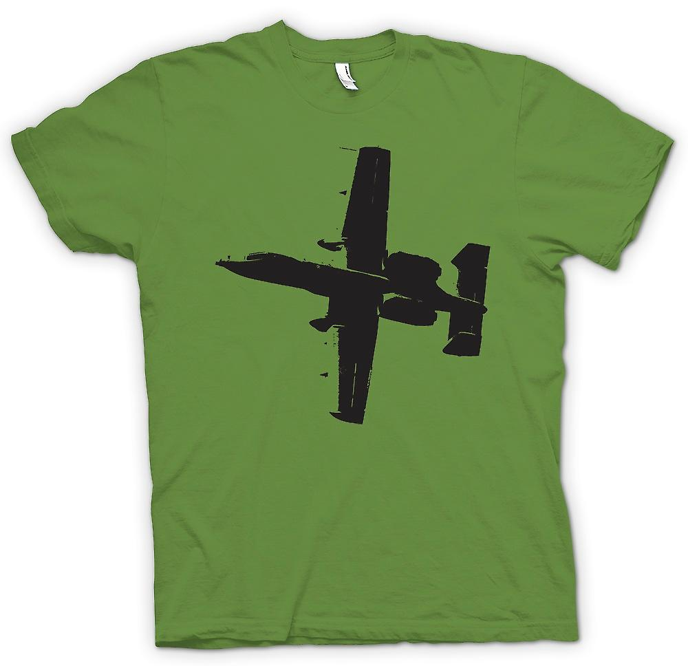 Mens T-shirt - A10 Thunderbolt Tank Buster - genial Fighter