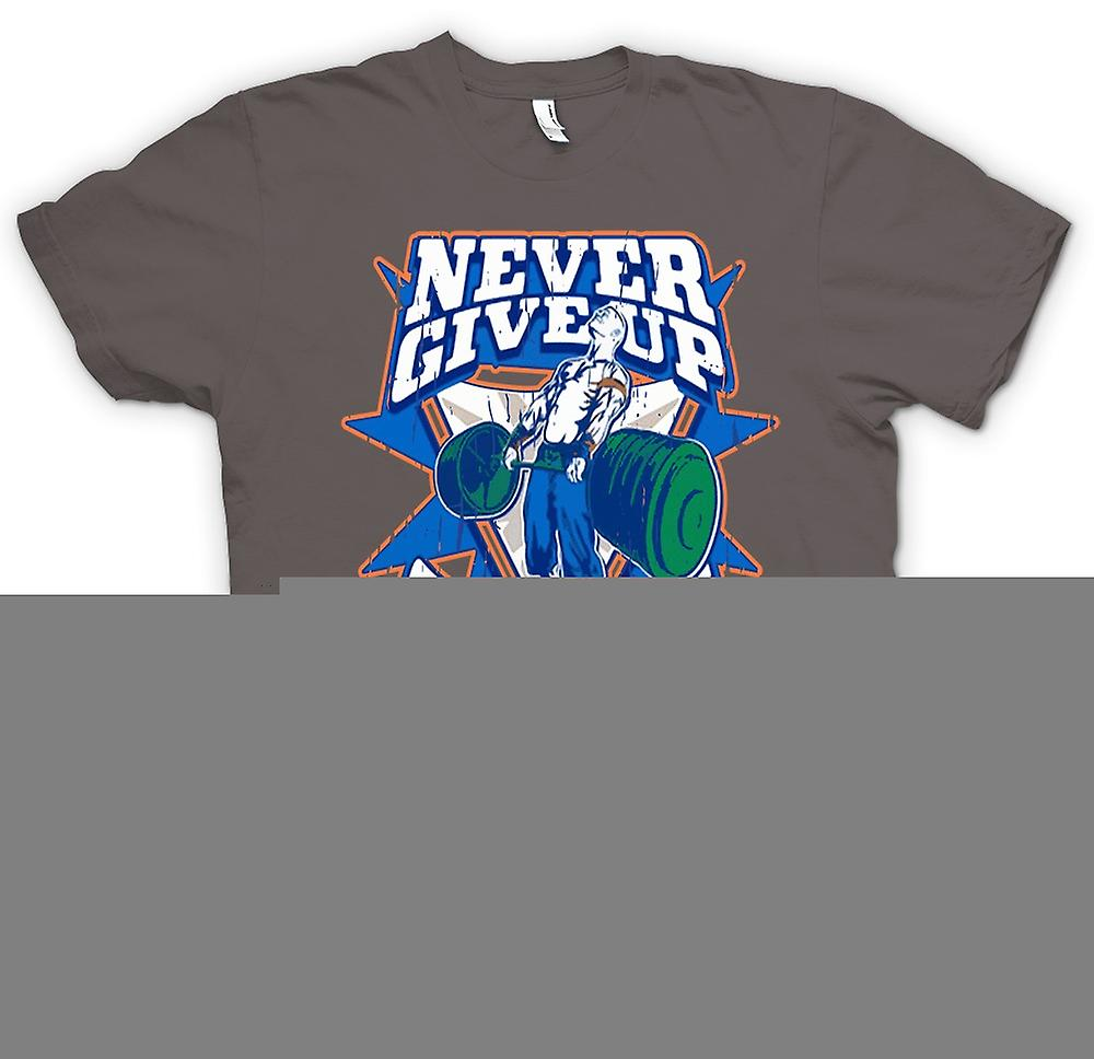 Womens T-shirt - Never Give Up - Cenation