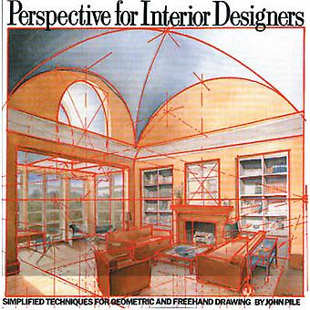 Perspective for Interior Design by John Pile - 9780823040087 Book