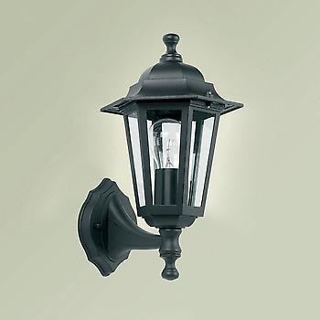 Endon YG-2000 Exterior Wall Lamp In Black