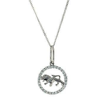 TOC Sterling Silver CZ Set Zodiac