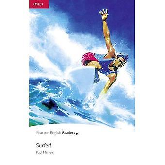 Surfer!: niveau 1 (Penguin Longman Penguin lezers)
