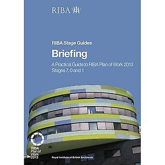 Briefing: A Practical Guide to RIBA Plan of Work 2013 Stages 7, 0 and 1 (RIBA Stage Guide)