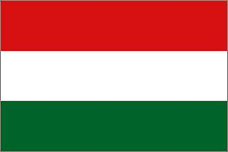 Hungary Flag 5ft x 3ft with Eyelets For Hanging