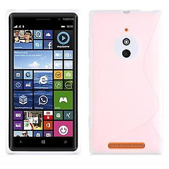 Cadorabo case for Nokia Lumia 830 - mobile cover from flexible TPU silicone in the S-line design - silicone case cover soft back cover case bumper