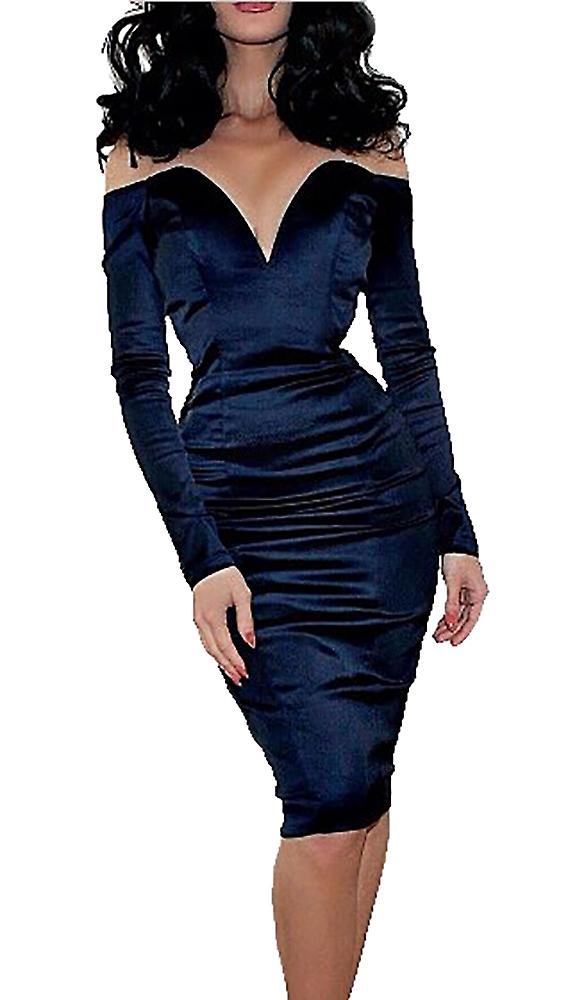 Waooh - Midi Dress with V neckline Duke