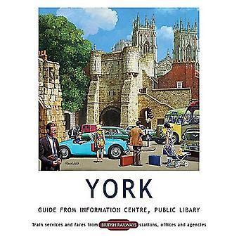 York, Information Centre Guide - Large Metal Sign 400mm x 300mm (og)