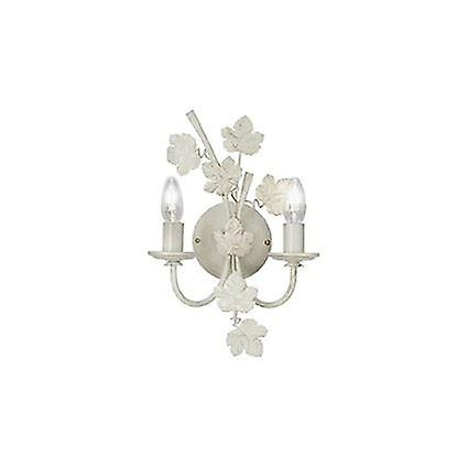 Ideal Lux - Champagne Ivory Gilded Wall Light IDL121864