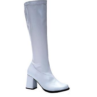 Go Go Boot White Size 5