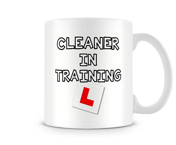 Cleaner In Training Mug