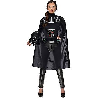 DART Vader Star Wars vrouwelijke volwassen kostuum
