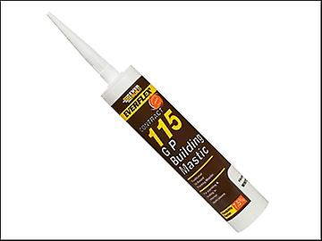 Everbuild 115 General Purpose Building Mastic White