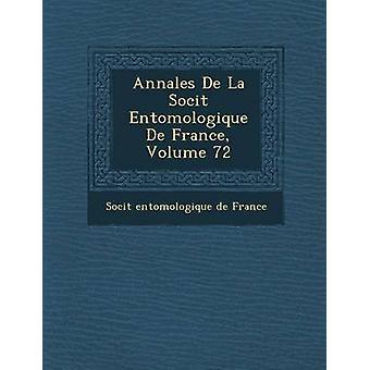 Annales de La Soci T Entomologique de France Volume 72 da Soci T.