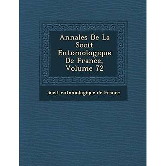 Annales de La Soci T Entomologique de France Volume 72 por Soci T.