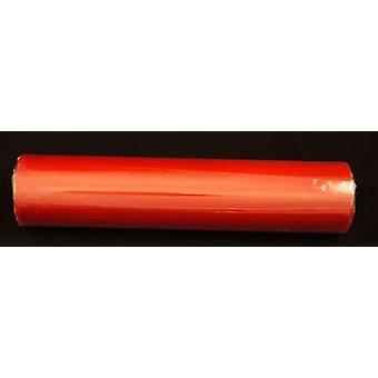 Rosso di festa di nozze sedia Sash Bow/tabella corridore neve pura Organza 25 m x 28 cm - confezione da 5