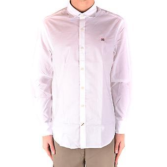 Napapijri White Cotton Shirt