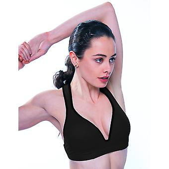 Black idrett BH Leilani Gym å Swim®