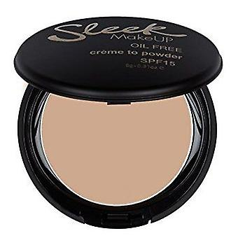 Sleek Make Up Makeup Base Crème to Powder Oyster (Makeup , Face , Mattifying powders)