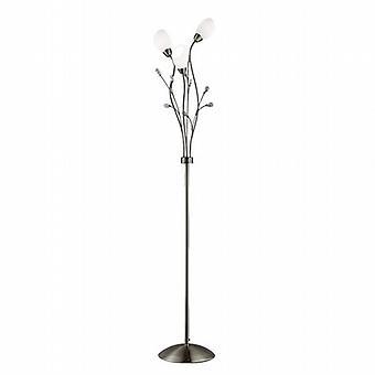 Searchlight Gardenia 4763AB Floor Lamp
