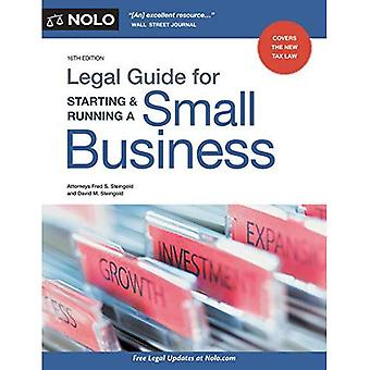 Legal Guide for Starting &� Running a Small Business
