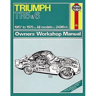 Triumph TR5 & TR6 Owner's Workshop Manual - 9780857336477 Book