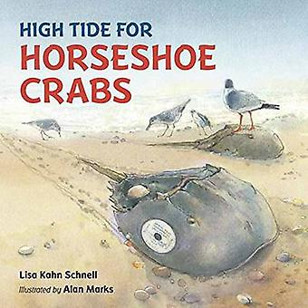 High Tide for Horseshoe Crabs by Lisa Kahn Schnell - Alan Marks - 978