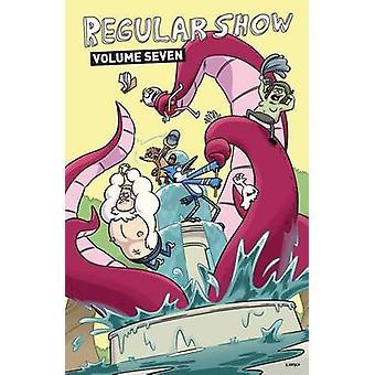 Regular Show - Volume 7 by Wook Jin Clark - Mad Rupert - 9781608869107