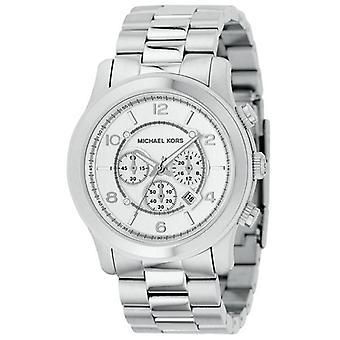 Michael Kors Chronograph Silver Watch Mk8086