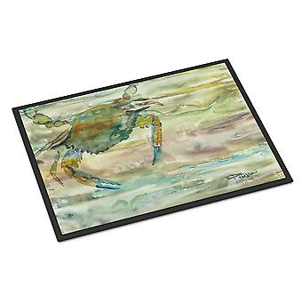 Carolines Treasures  SC2013JMAT Blue Crab Sunset Indoor or Outdoor Mat 24x36