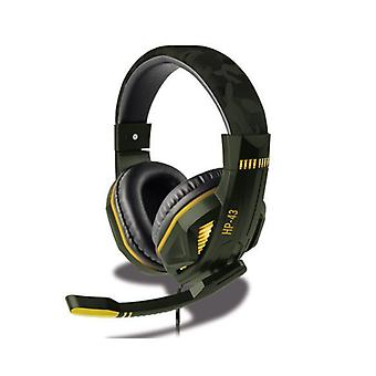 Steelplay filaire Headset HP43 pour PS4-Green Camo