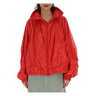 Givenchy Red Nylon Outerwear Jacke