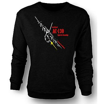Mens Sweatshirt Lockheed Ac0 Spectre Gunship
