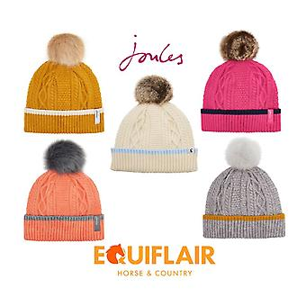 Joules Anya Bobble Hat - SS19