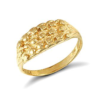 Jewelco London Kids Solid 9ct Yellow Gold 3 Row Keeper Rope Edge Baby Ring Jewelco London Kids Solid 9ct Yellow Gold 3 Row Keeper Rope Edge Baby Ring Jewelco London Kids Solid 9ct Yellow Gold 3 Row Keeper Rope Edge Baby Ring Jewelco