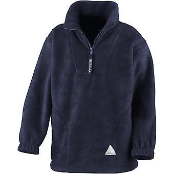 Résultat - Junior Kids Polartherm Fleece 1/4 Zip Jacket Top - École