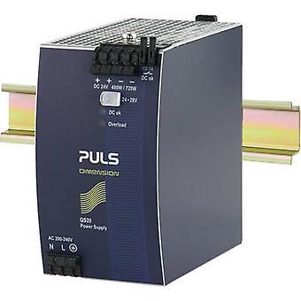 PULS DIMENSION QS20.244 Rail mounted PSU (DIN) 24 Vdc 20 A 480 W 1 x