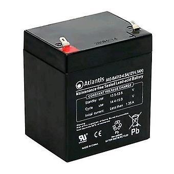 Atlantis aterriza a03-bat12-4.5 una batería de reemplazo de 12 voltios 4.5 ah italy (a03-bat12-4.5 a)