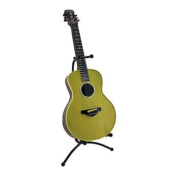 Classic 6 streng Akustisk Guitar mønt Bank sparegris w/Stand
