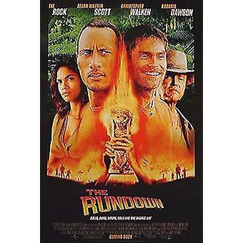 L'affiche de cinéma originale Rundown (Double Sided Regular)
