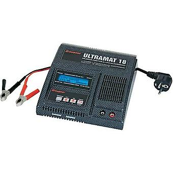 Scale model multifunction charger 220 V 20 A Graupner Ultramat 18 Lead-acid, LiFe, Li-ion, LiPolymer, NiMH, NiCd