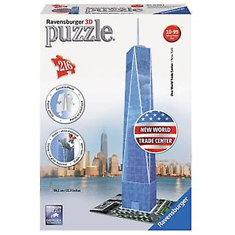 Ravensburger 3D Freedom Tower 54 Cm. 216 Parts (Toys , Boardgames , Puzzles)