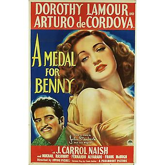 A Medal for Benny Movie Poster Print (27 x 40)
