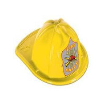 Yellow Medium Fire Chief Hat