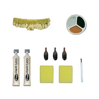 Zombie Peeling Skin Make Up Kit