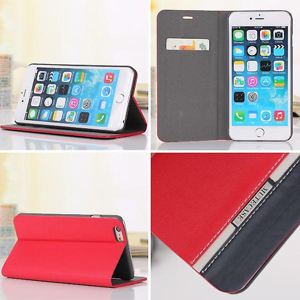 Wallet Tasche Multi Color 2 für Apple iPhone 6 Plus 5.5