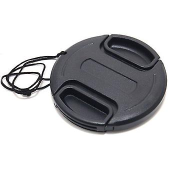 Dot.Foto 46mm Snap On Lens Cap with string / leash for Cameras and Camcorders