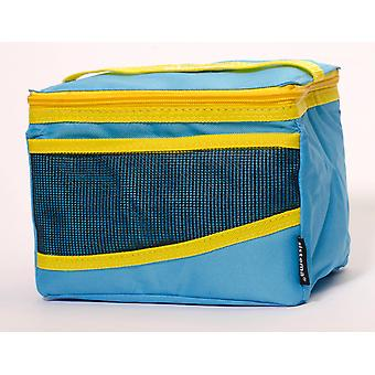 Sistema Maxi Fold Up Insulated Lunch Cooler Bag, Blue