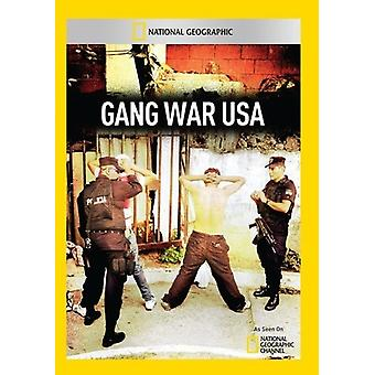 Bande krigen Usa [DVD] USA importerer