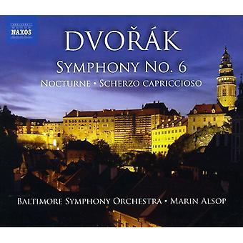 A. Dvorak - Dvor K: Symphony No. 6; Scherzo Capriccioso [CD] USA import