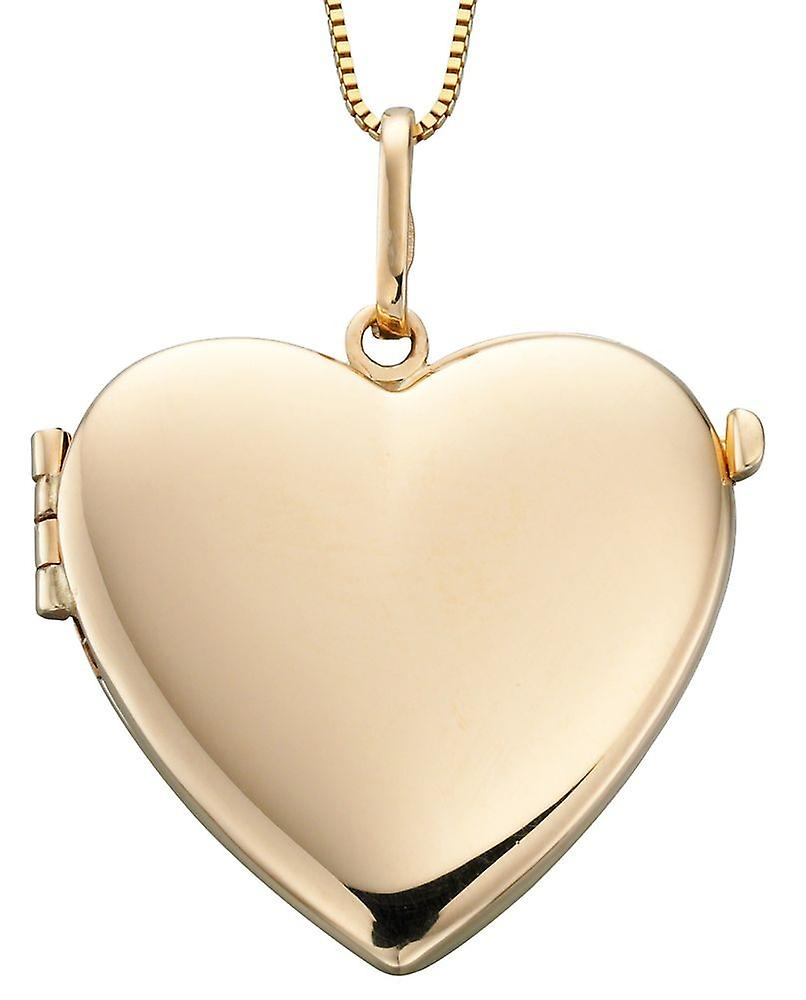 9Ct or Photo Heart Necklace